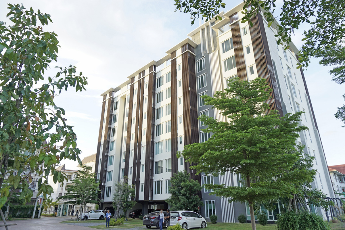 K Hall condominium